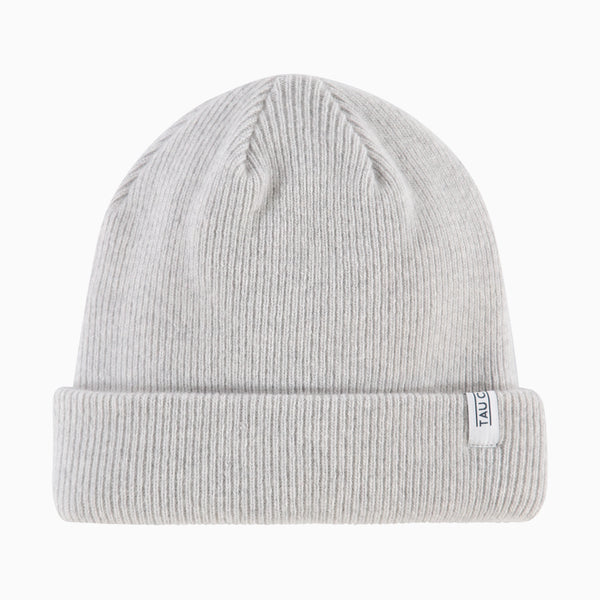 The Beanie | Light Grey Melange