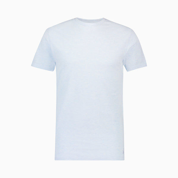 Pique T-Shirt | Light Blue Melange
