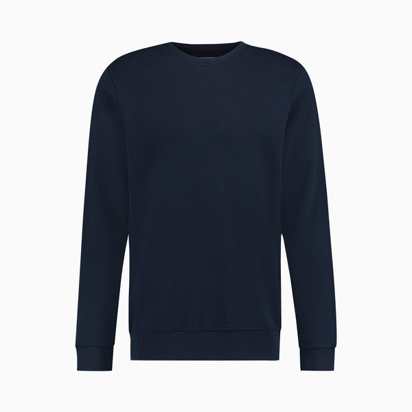 Cotton Sweatshirt | Navy