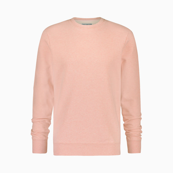 "Cotton Sweatshirt <span class=""color_break"">Salmon Pink</span>"