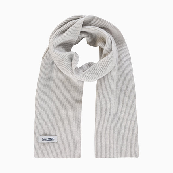 "Scarf <span class=""color_break"">Light Grey Melange - SHIPS BETWEEN 1/11 AND 14/11 </span>"
