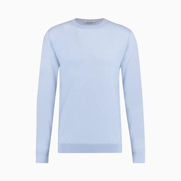 Merino Wool Pullover | Light Blue