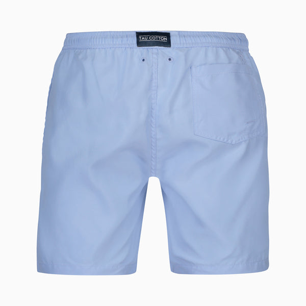"Swim Trunks <span class=""color_break"">Lavender Light Blue</span>"