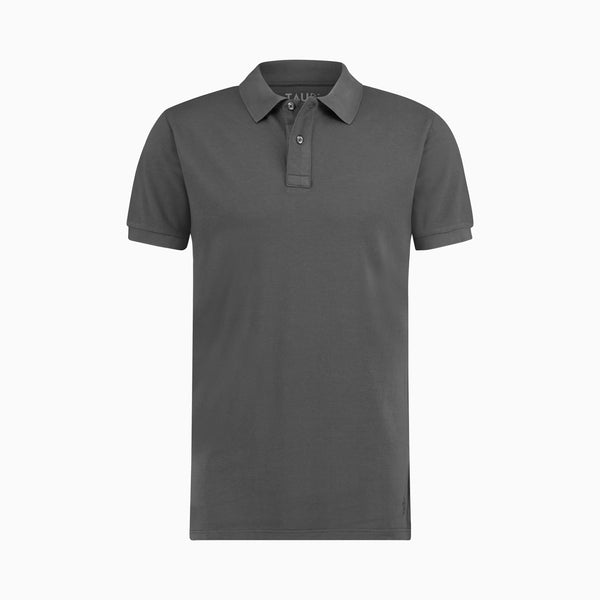 Classic Pique Polo | Washed Anthracite