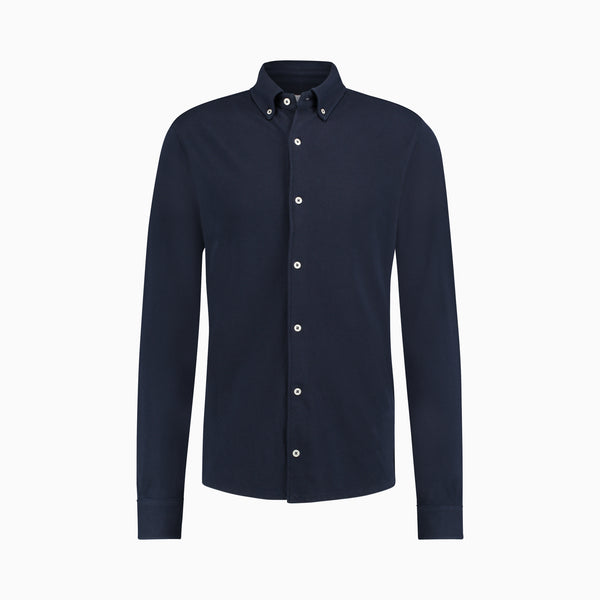 The Pique Shirt | Navy