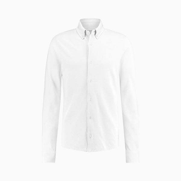 The Pique Shirt | White