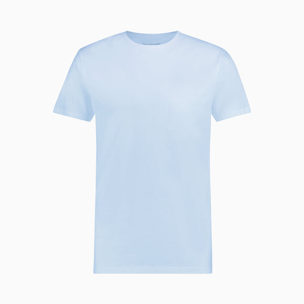 Crew Neck T-Shirt | Light Blue