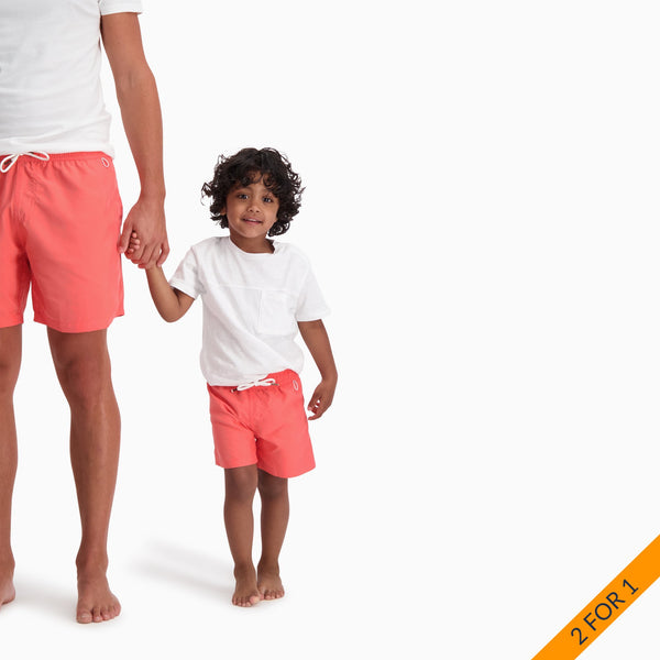 The Boys Swim Trunks | Pink Coral