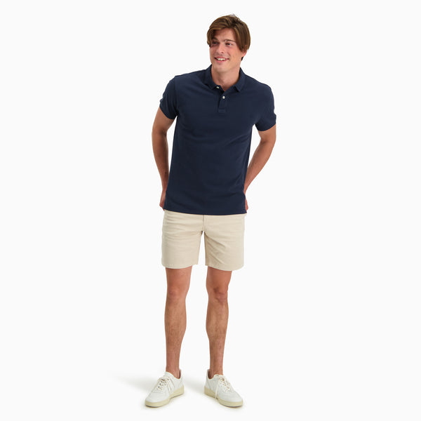 The Pique Polo | Navy