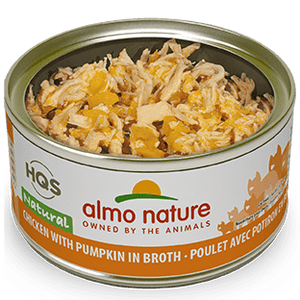 Almo Chicken & Pumpkin Cat Food