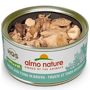 Almo Trout & Tuna Cat Food