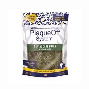 PlaqueOff Dental Care Bones Vegetable Fusion 482g