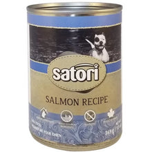 Load image into Gallery viewer, Satori 369g Salmon Canned Dog Food