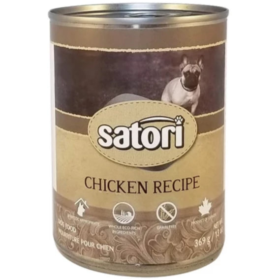 Satori 369g Chicken Canned Dog Food