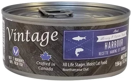 Vintage Harbour Salmon & Herring Moist Cat Food
