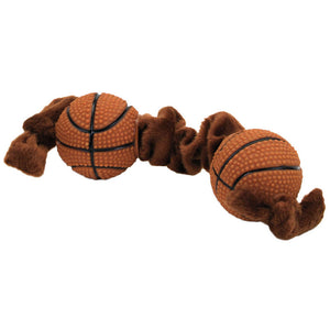Li'l Pals Basketball Tug Dog Toy