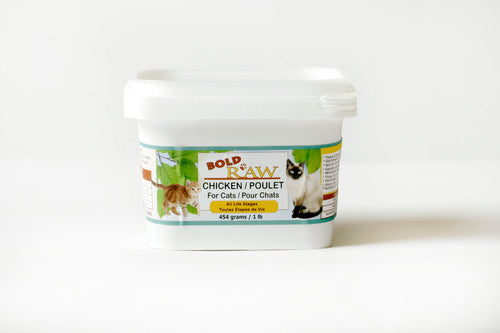 Bold Raw 454g Chicken Raw Cat Food