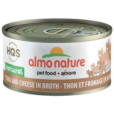 Almo Tuna and Cheese in Broth Cat Food