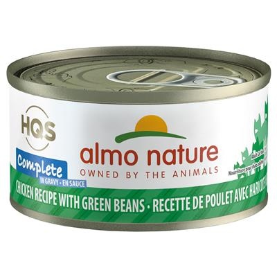 Almo Chicken with Green Beans in Gravy Cat Food