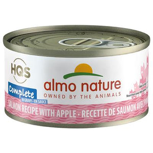 Almo Salmon with Apples in Gravy Cat Food