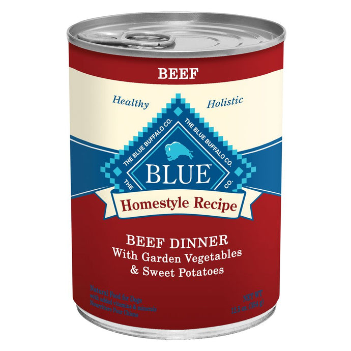 Blue Buffalo Homestyle Beef and Garden Vegetable Canned Dog Food