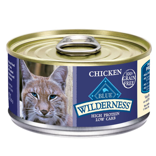Blue Buffalo Wilderness Chicken Adult Canned Cat Food