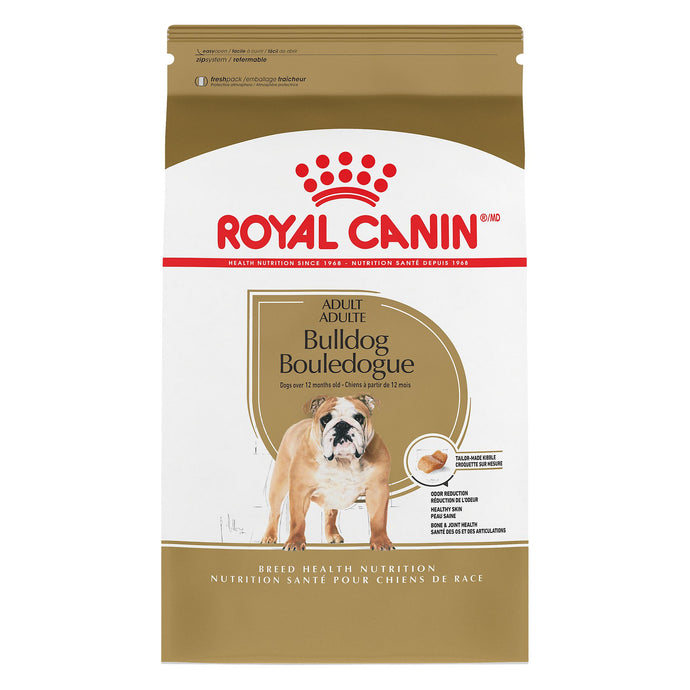 Royal Canin Breed Health Nutrition Bulldog 13.6kg Dog Food
