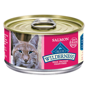 Blue Buffalo Wilderness Salmon Adult Canned Cat Food