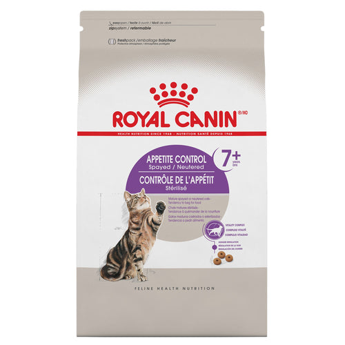 Royal Canin Feline Health Nutrition Appetite Control Spayed Neutered Cat Food