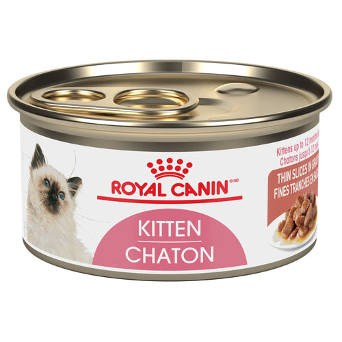 Royal Canin Feline Health Nutrition Instinctive Kitten Thin Slices in Gravy Canned Cat Food