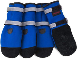 Pawsh Pads Dog Boots Blue
