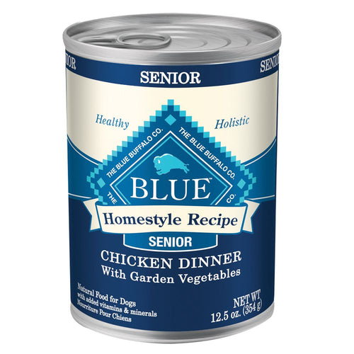 Blue Buffalo Homestyle Recipe Senior Chicken Dinner Canned Dog Food