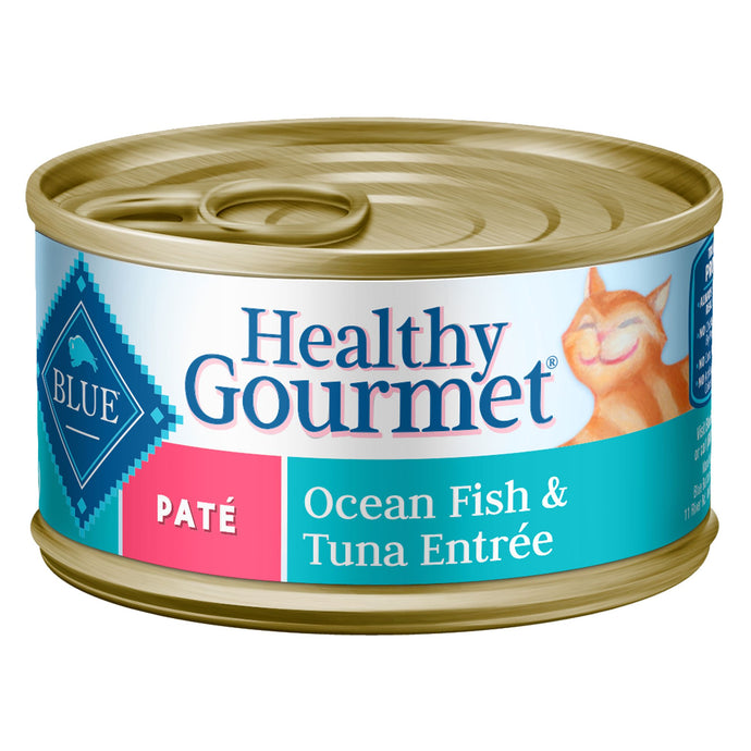 Blue Buffalo Healthy Gourmet OceanFish and Tuna Pate Canned Cat Food