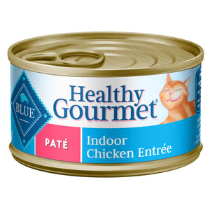 Blue Buffalo Healthy Gourmet Indoor Chicken Pate Adult Canned Cat Food