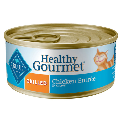 Blue Buffalo Healthy Gourmet Grilled Chicken in Gravy Adult Canned Cat Food