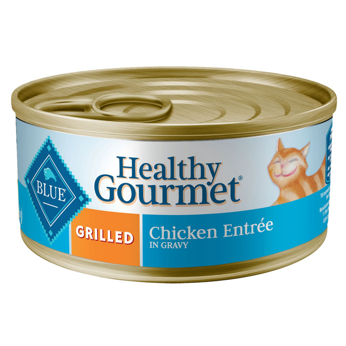 Blue Buffalo Healthy Gourmet Grilled Chicken in Gravy Canned Cat Food