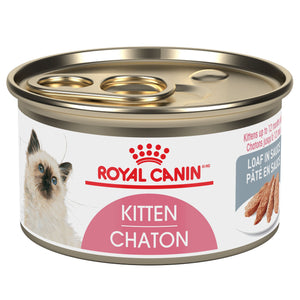 Royal Canin Feline Health Nutrition Instinctive Kitten Loaf Canned Cat Food