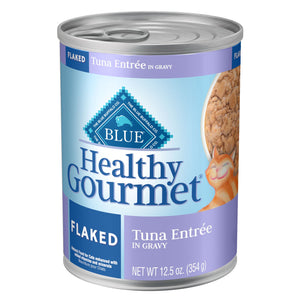 Blue Buffalo Healthy Gourmet Flaked Tuna in Gravy Adult Canned Cat Food