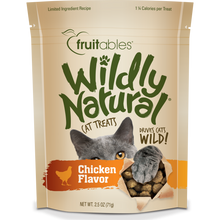 Load image into Gallery viewer, Fruitables Wildly Natural Chicken 71g Cat Treats
