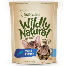 Load image into Gallery viewer, Fruitables Wildly Natural Tuna 71g Cat Treats