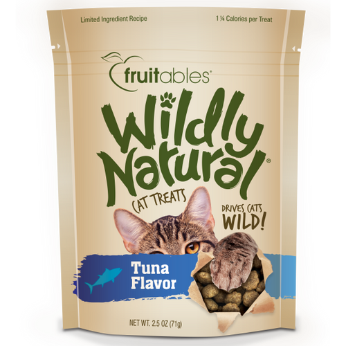 Fruitables Wildly Natural Tuna 71g Cat Treats