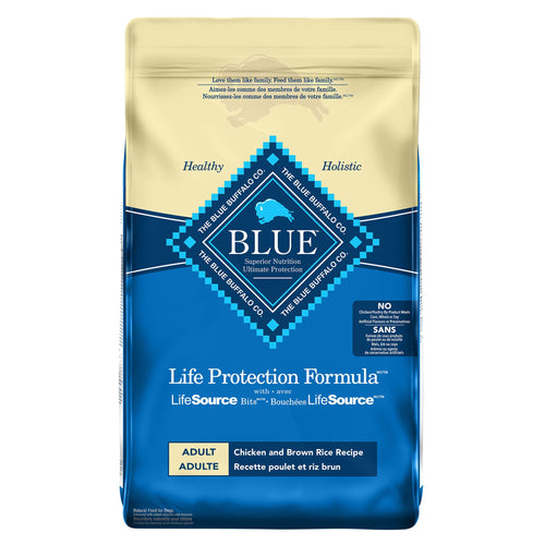 Blue Buffalo Life Protection Formula Adult Chicken and Brown Rice 11.8kg Dog Food