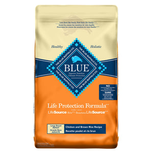 Blue Buffalo Life Protection Formula Large Breed Adult Chicken and Brown Rice 11.8kg Dog Food
