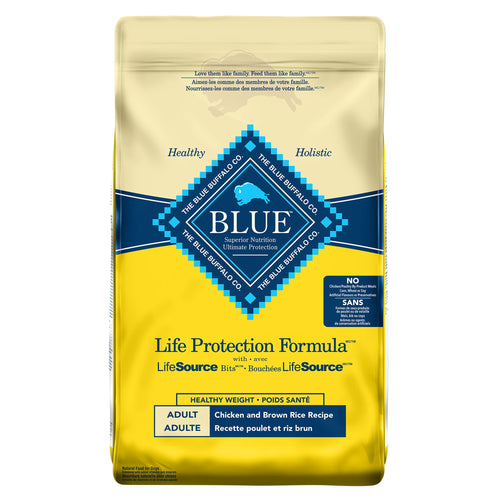 Blue Buffalo Life Protection Formula Healthy Weight Adult Chicken and Brown Rice 11.8kg Dog Food