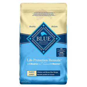 Blue Buffalo Life Protection Formula Puppy Chicken and Brown Rice 11.8kg Dog Food