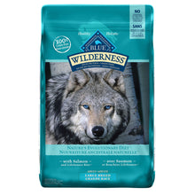 Load image into Gallery viewer, Blue Buffalo Wilderness Large Breed Adult Salmon 10.89kg Dog Food