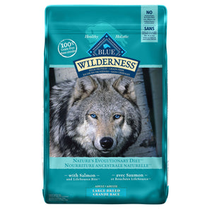 Blue Buffalo Wilderness Large Breed Adult Salmon 10.89kg Dog Food