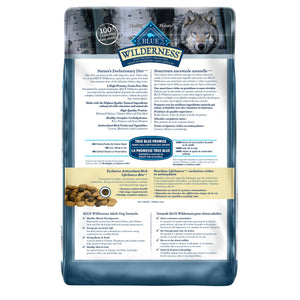 Blue Buffalo Wilderness Adult Chicken 10.89kg Dog Food