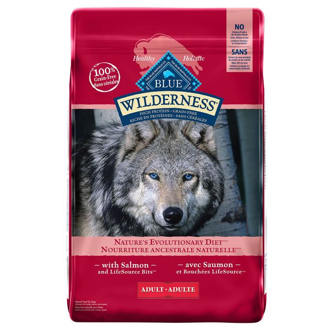 Blue Buffalo Wilderness Adult Salmon 10.89kg Dog Food