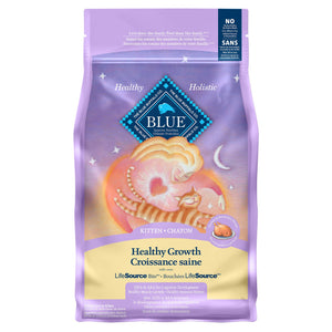 Blue Buffalo Healthy Growth Kitten 3.18kg Cat Food